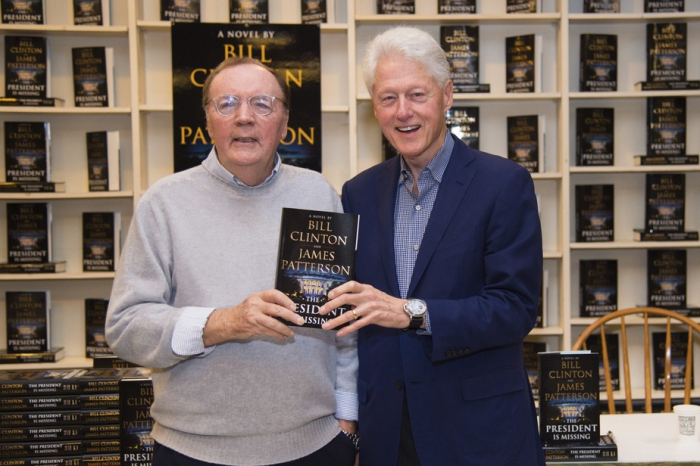 Bill Clinton et James Patterson vont sortir un nouveau roman policier en 2021