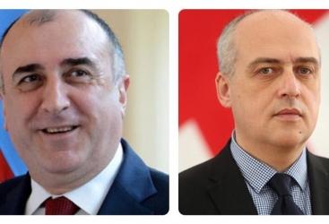 Celebran conversación telefónica entre los jefes de los Ministerios de Relaciones Exteriores de Azerbaiyán y Georgia