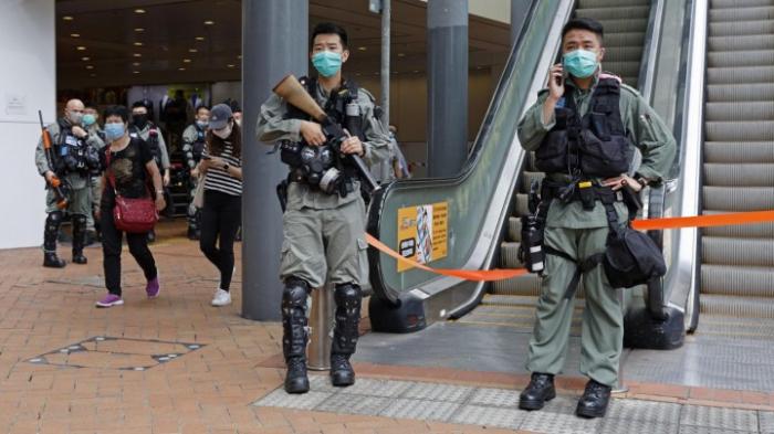 Tränengas gegen Demonstranten