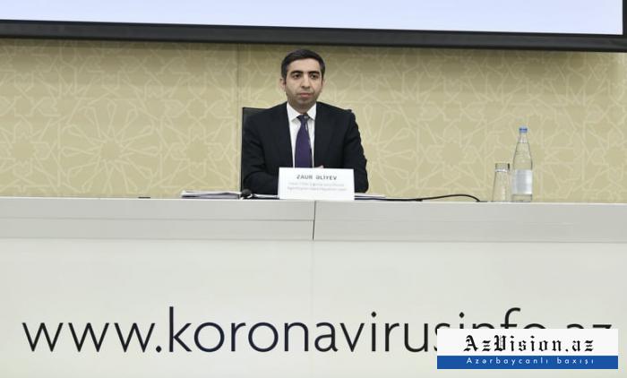 Zaur Əliyev jurnalistlərin suallarını cavablandırdı - VİDEO