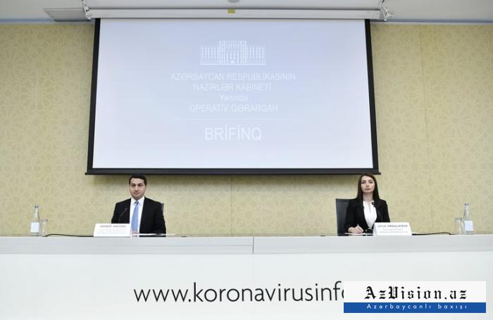 MFA: No coronavirus infected people among reps of Azerbaijani diplomatic missions abroad