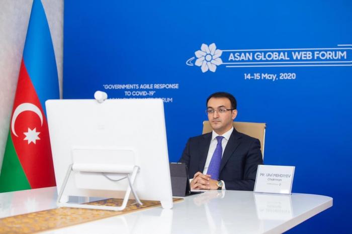 ASAN Qlobal Veb Forumun açılış sessiyası oldu -  FOTOLAR