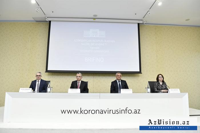 Operativ Qərargah brifinq keçirdi - VİDEO