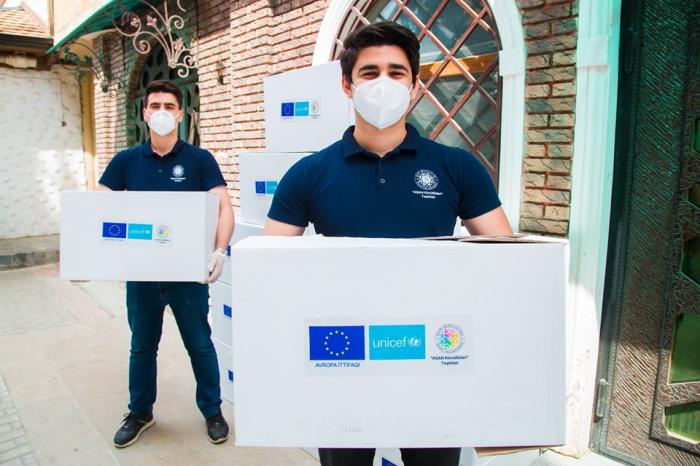 ASAN könüllüləri UNICEF-lə birgə sosial yardımları davam etdirir