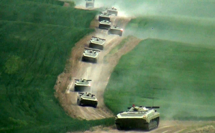 Troops involved in exercises move to operational areas -  VIDEO
