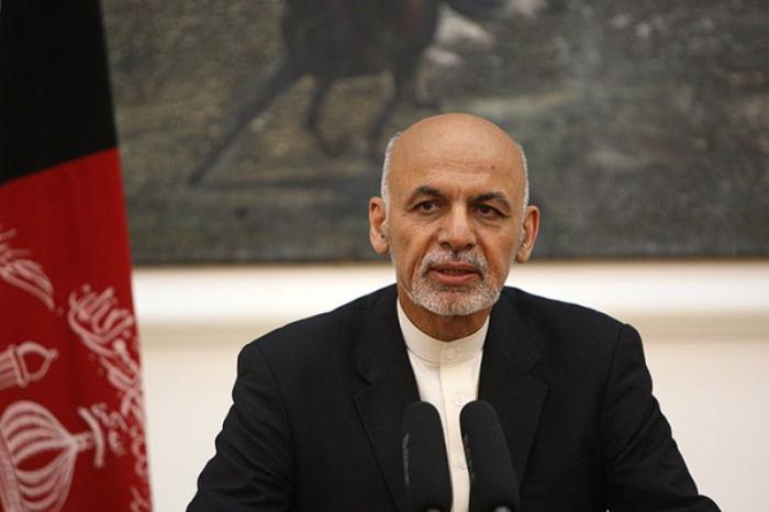 """Əşrəf Qani """"Taliban""""çıları azad edəcəyinə söz verdi"""