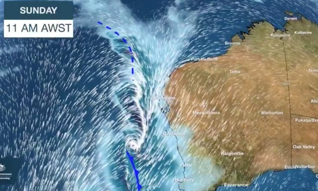 Entire Western Australia coast to be battered by