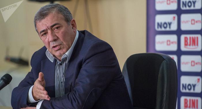 Ermənistan Futbol Federasiyasının keçmiş rəhbəri axtarışa verildi