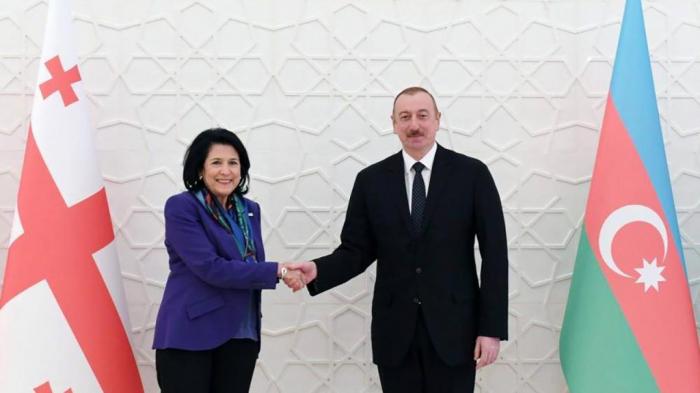 Azerbaijani President congratulates Salome Zourabichvili