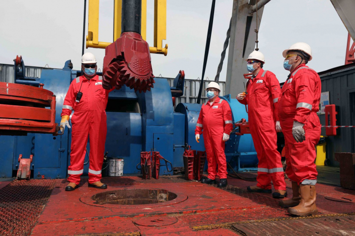 Drilling of new well launched at Umid gas condensate field in Azerbaijan
