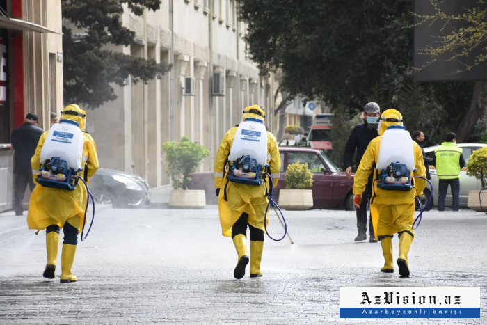 More than 300 main streets, avenues, and highways to be disinfected in Baku