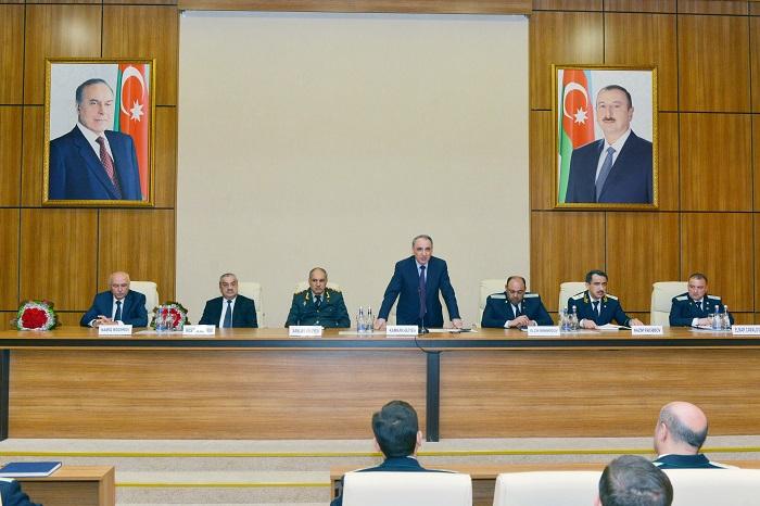 Baş prokurorun yeni müavinləri kollektivə təqdim edildi - FOTO