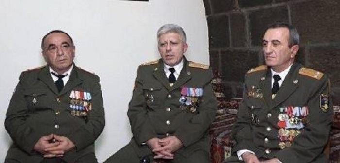 Erməni polkovniklər qəzaya düşdü: Biri yanaraq öldü, 3-ü ağır yaralandı