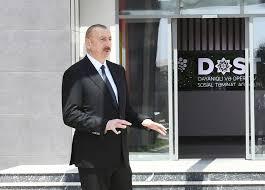 الرئيس:  يخطط فتح اكثر من 30 مركز دوست في أذربيجان - صور+فيديو