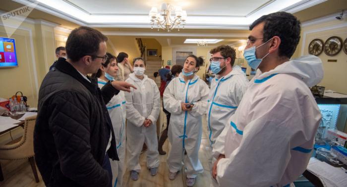 Ermənistanda koronavirusa yoluxma sayı 2884-ə çatdı