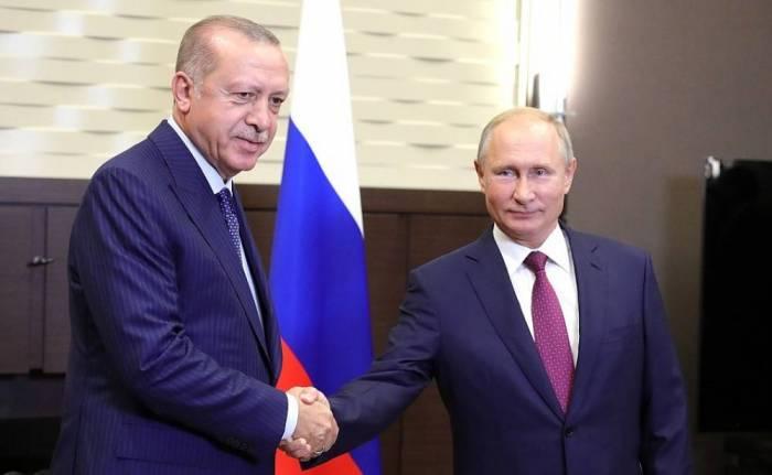 Ərdoğan Putinə məktub göndərdi