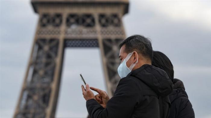 Fransada 3325 yeni yoluxma qeydə alındı