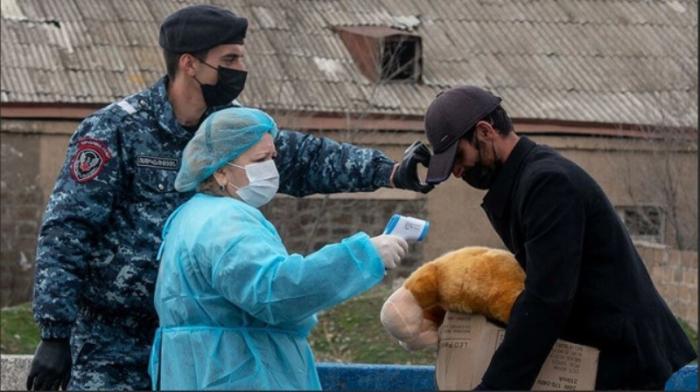Ermənistanda 74 nəfər koronavirusdan öldü