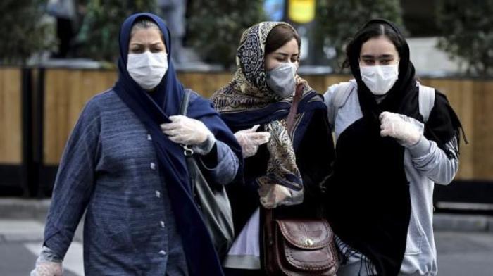 İranda koronavirusa yoluxanların sayı 100 mini ötüb