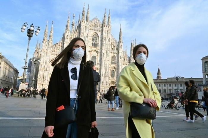 İtaliyada koronavirusa yoluxma sayı 220 mini ötüb