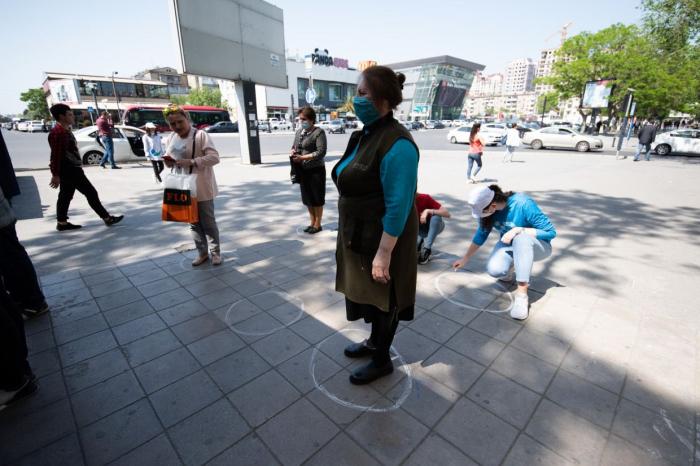 Könüllülər maraqlı aksiya həyata keçirdilər -  FOTO