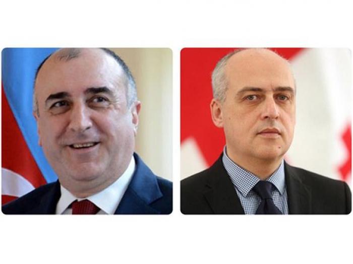 Azərbaycan və Gürcüstan XİN rəhbərləri telefonla danışdı
