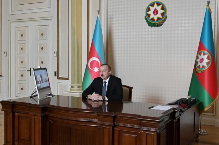 """""""Beynəlxalq təşkilatlarda sözçülük çox geniş yayılıb"""" - İlham Əliyev"""
