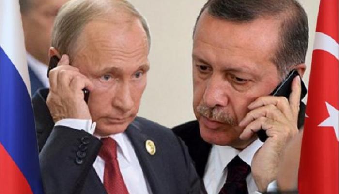 Ərdoğanla Putin telefonda danışdı