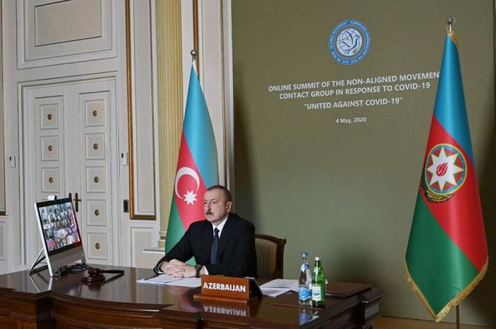 President Ilham Aliyev: Azerbaijan took prompt, necessary measures to prevent spread of coronavirus