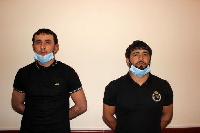 Qubada oğurluq edənlər saxlanıldı - FOTO