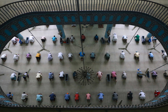 IN PICTURES:  A Ramadan unlike any other