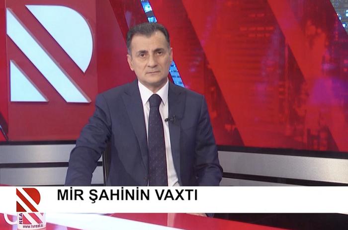 """Mirşahin Ağayev: """"REAL TV"""" fəaliyyətini davam etdirir"""