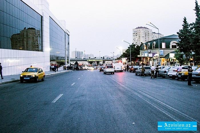 Ziya Bünyadov prospektinə giriş məhdudlaşdırılır
