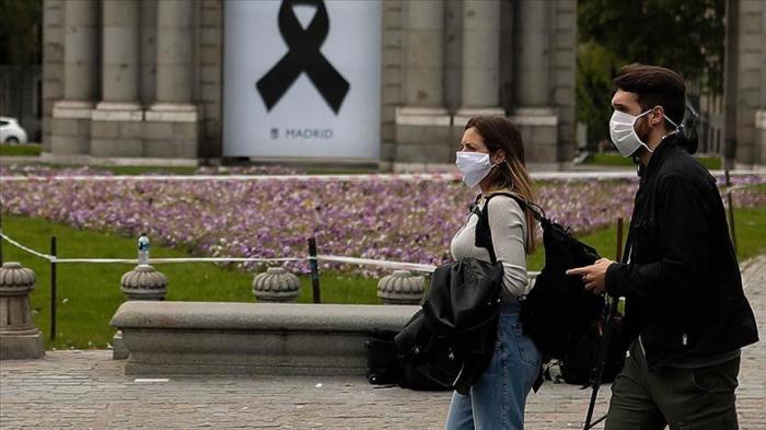 İspaniyada daha 217 nəfər koronavirusdan ölüb