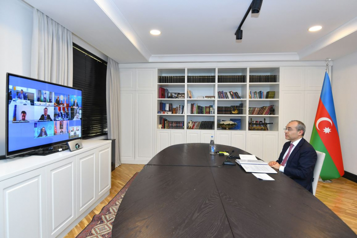 Azerbaijan's economy minister attends Turkic Council's videoconference