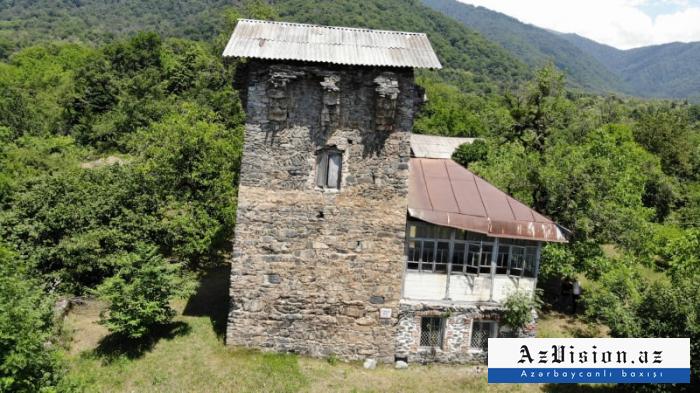 """Zaqatalanın """"Cingöz qala""""sı -  FOTOREPORTAJ"""
