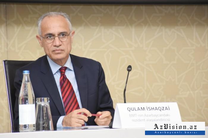 """""""COVID-19 ilə mübarizədə Azərbaycanın yanındayıq"""" -   Qulam İshaqzai"""