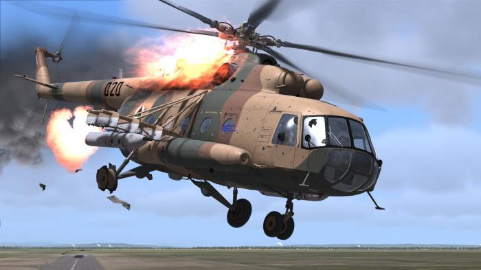 Hərbi helikopter qəzaya uğradı -   Ölənlər var