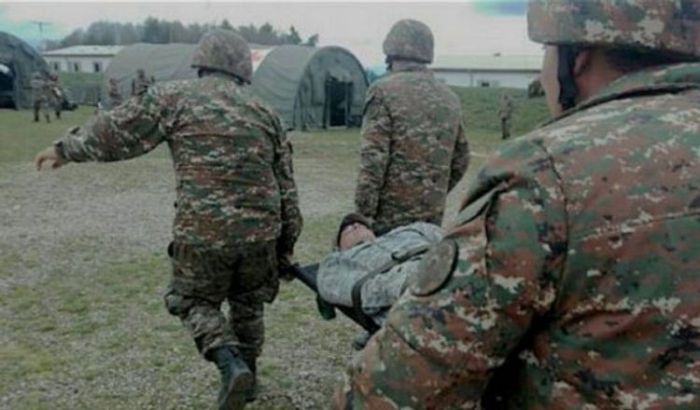 Qarabağda erməni əsgər öldü, yaralılar var