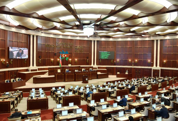 La session extraordinaire du Milli Majlis a commencé