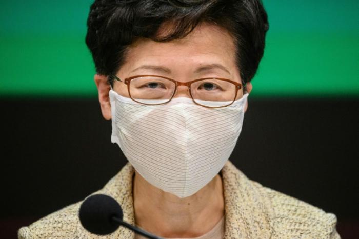 """Hongkongs Regierungschefin wirft den USA """"Doppelmoral"""" vor"""