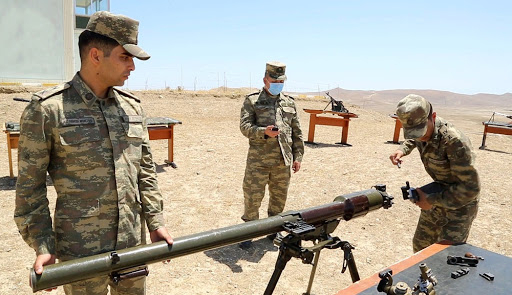 Azerbaijan Military Academy conducts state examinations