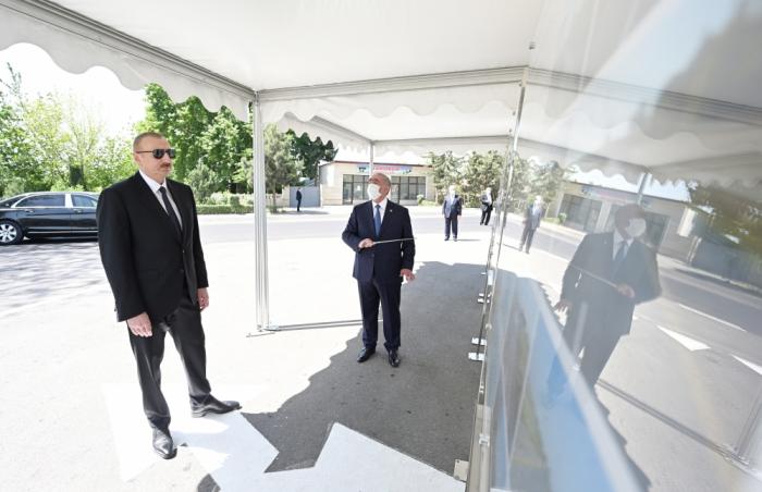 Prezident yol açılışında iştirak etdi -  YENİLƏNİB