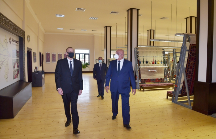 President Ilham Aliyev attends several openings in Tartar -  PHOTOS, UPDATING