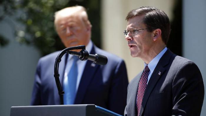 US-Militär verlegt Soldaten nach Washington