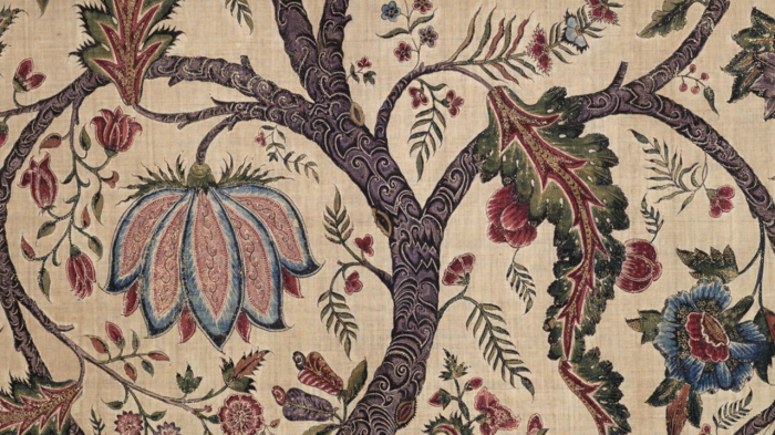 The floral fabric that was   banned