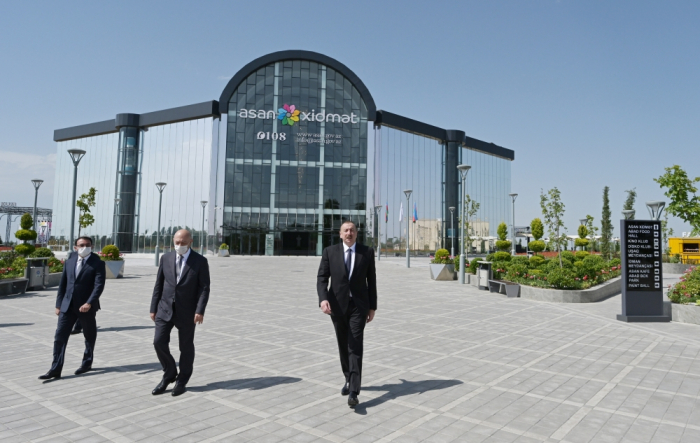 """ASAN xidmət"" center inaugurated in Aghjabadi"