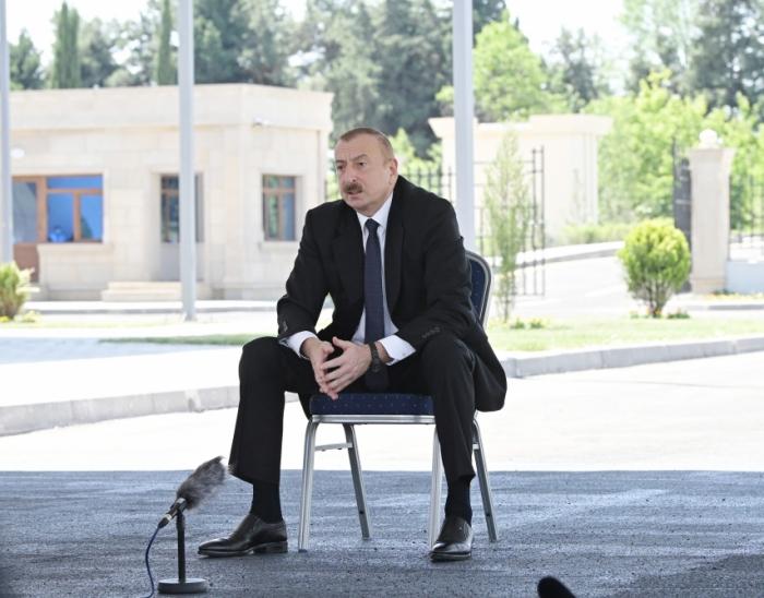 """Präsident:   """"Aserbaidschanischer Staat befindet sich auf höchstem Niveau"""""""