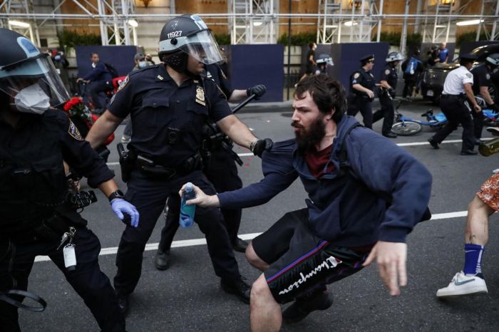 Over 10,000 detained in the US riots