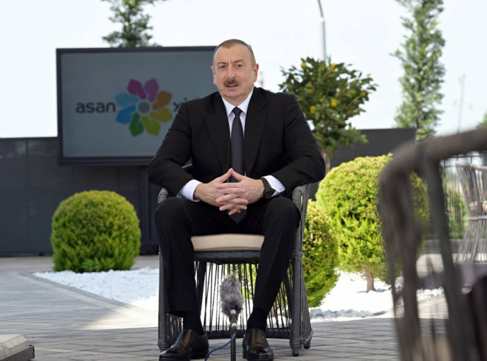 President Aliyev: We can be proud that ASAN Service is Azerbaijan's national brand